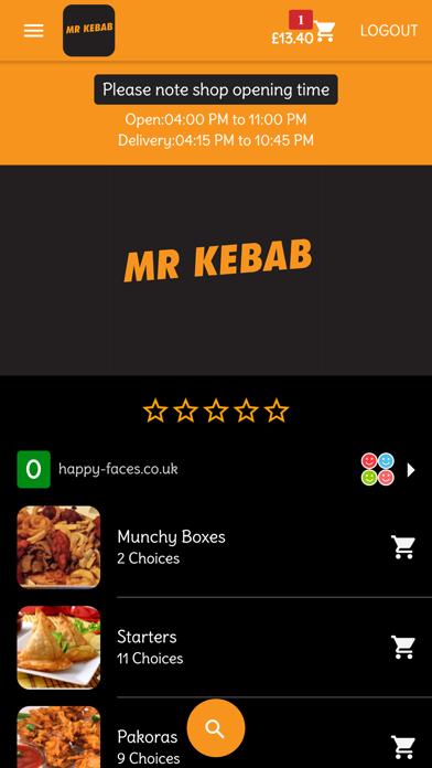 Mr Kebab Dumbarton screenshot one