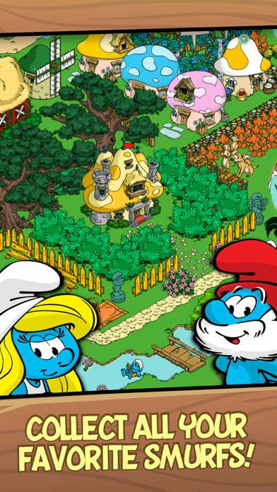 Smurfs' Village Скриншоты5