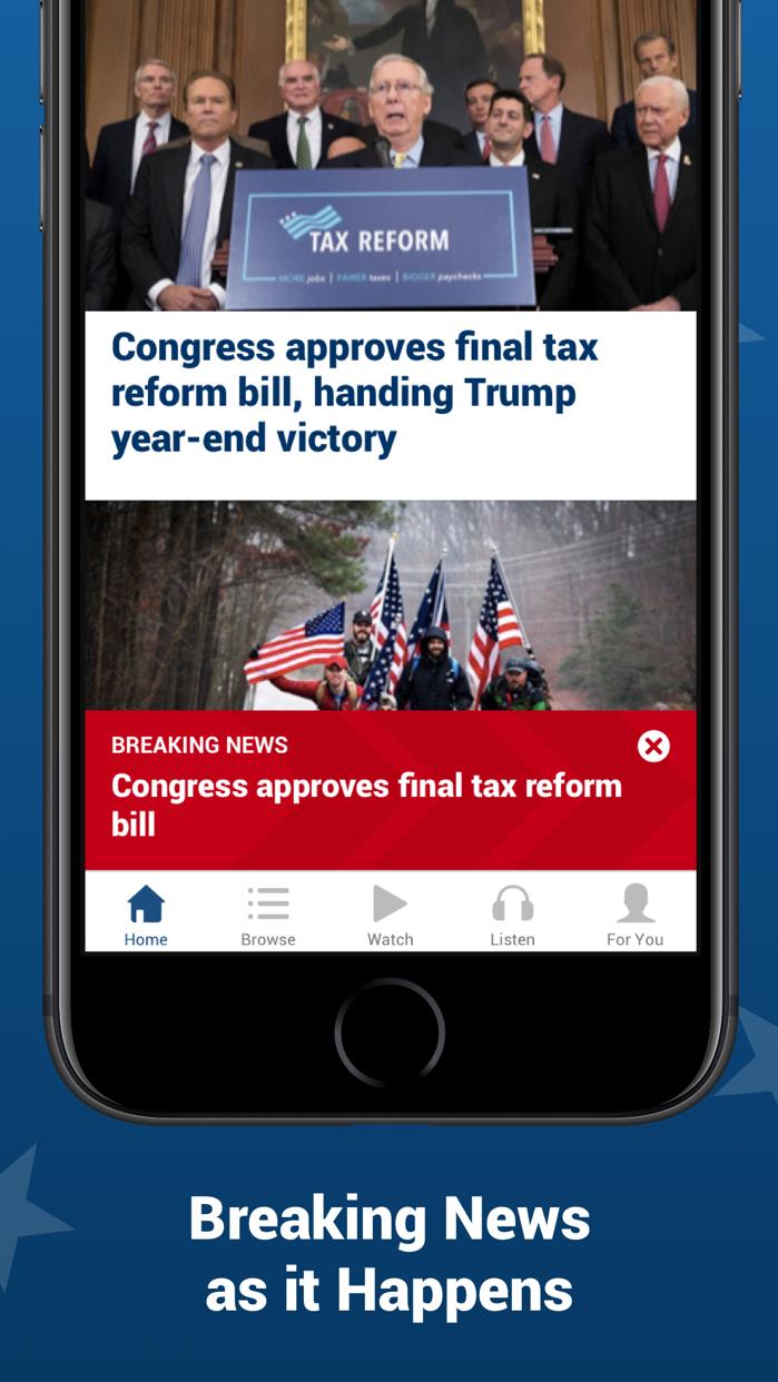 Fox News: Live Breaking News Screenshot