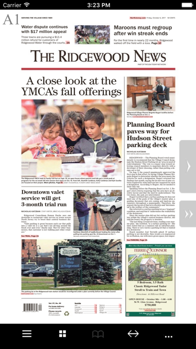 The Ridgewood News Print Screenshot