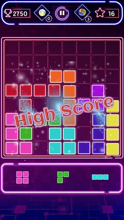 Block Puzzle Neon screenshot-3