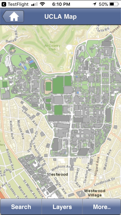 UCLA Campus Map