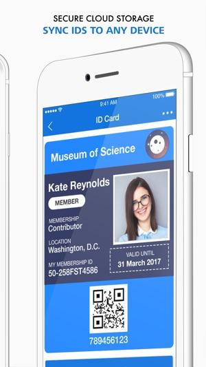 id123 digital id card app on the app store