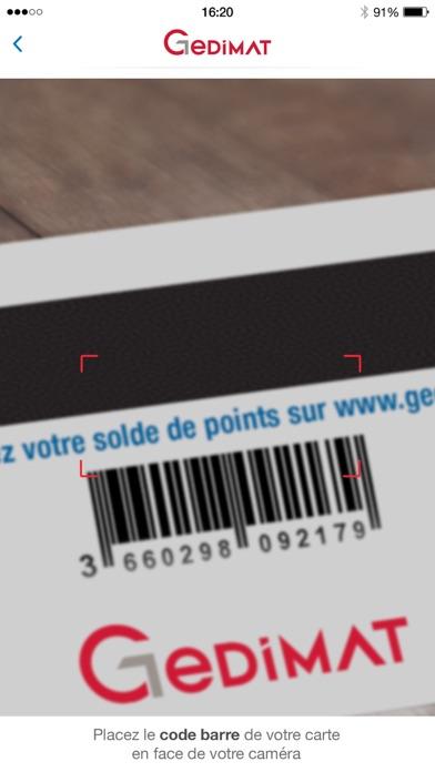 点击获取Ma carte de fidélité Gedimat