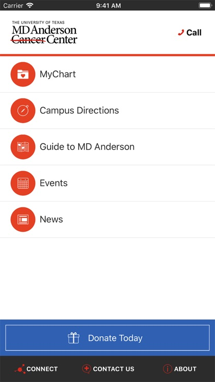 MD Anderson Mobile screenshot-0