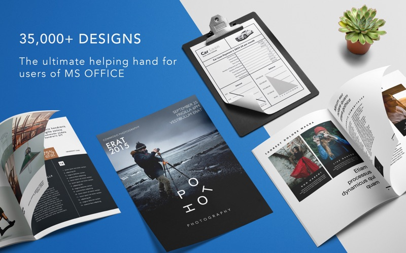 GN Templates For MS Office App Price Drops - Microsoft office design templates