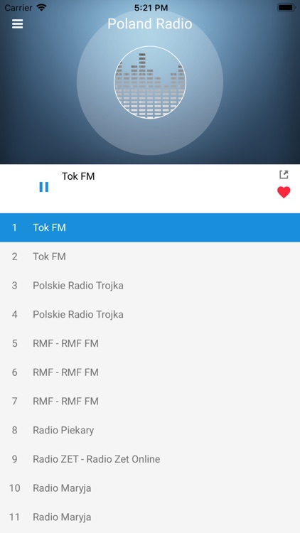 Poland Radio Station Polish FM screenshot-4