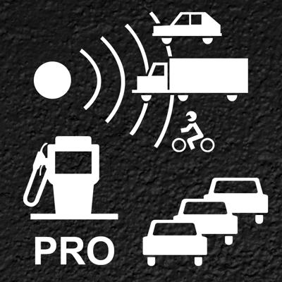Trafico NO Pro: Detector radar app