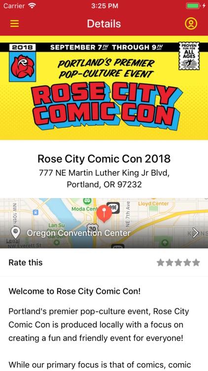 Rose City Comic Con 2018