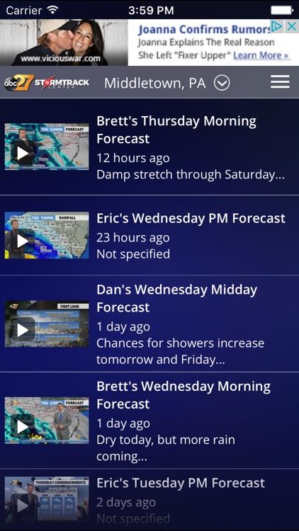 abc27 Weather screenshot-3