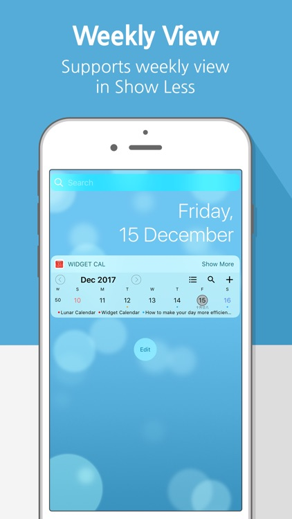 Widget Calendar : Easy&Simple screenshot-2