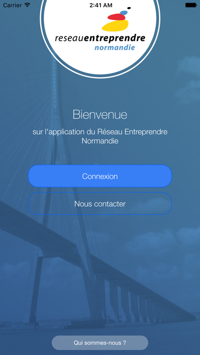 Reseau Entreprendre Normandie screenshot one