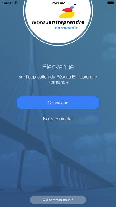 Reseau Entreprendre Normandie screenshot one