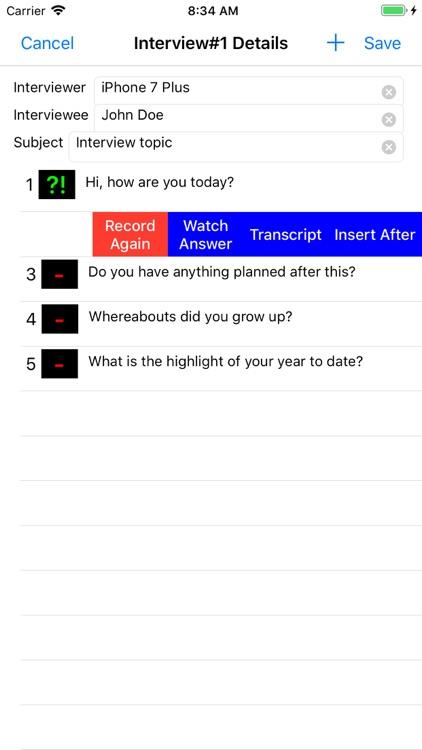 Our Interview screenshot-6
