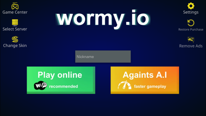 wormy.io Screenshot