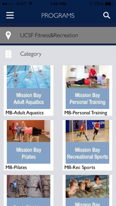UCSF Fitness & Recreation screenshot four