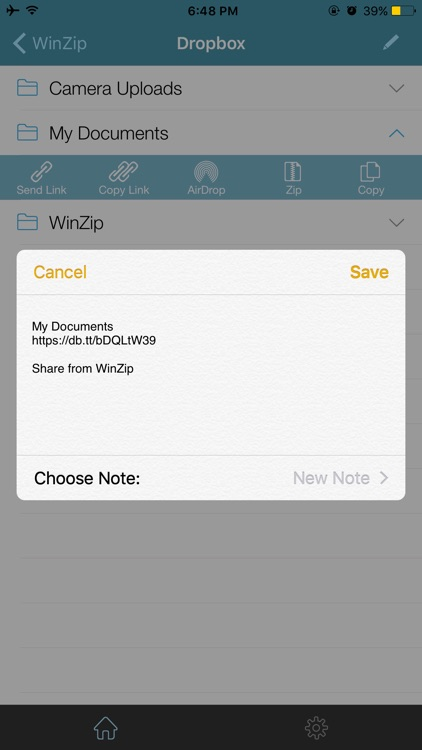 WinZip Pro: zip, unzip & rar screenshot-4