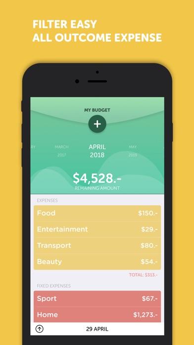 BudgetBook!Screenshot von 3