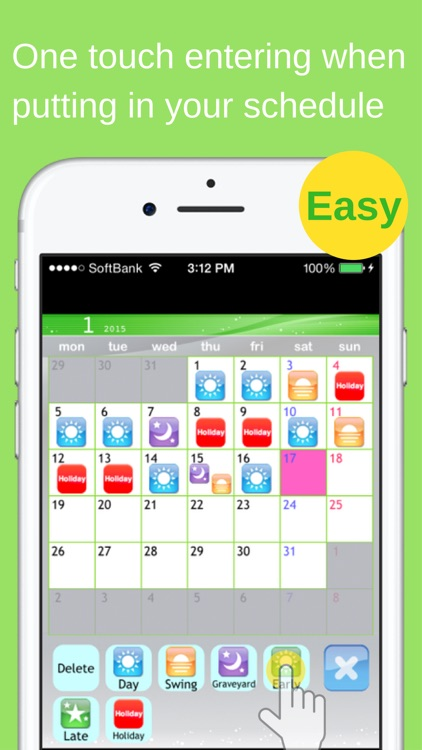 Shift Planning Calendar Pro screenshot-3
