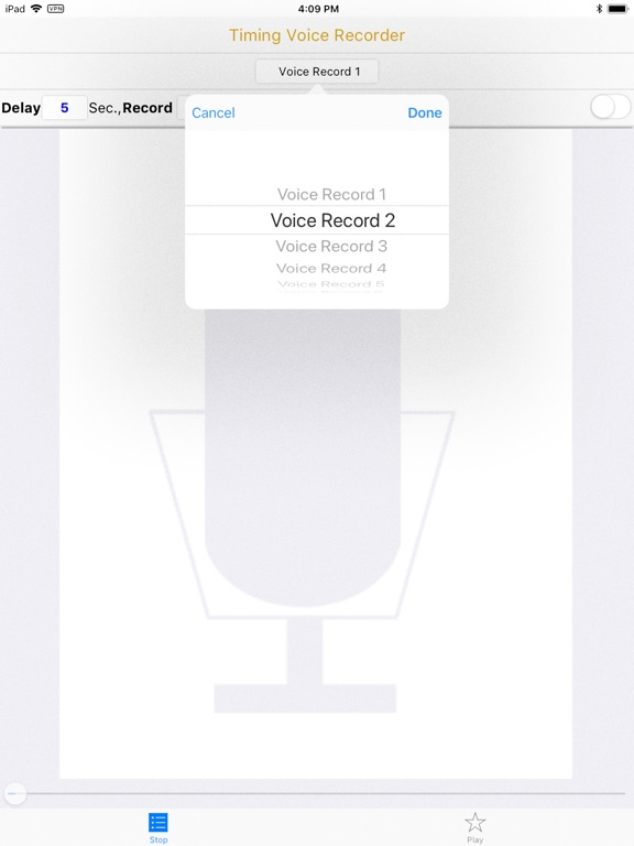 Timing Voice Recorder screenshot 7