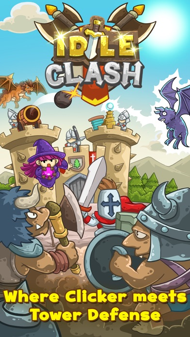 Screenshot #6 for Idle Clash - Frontier Defender