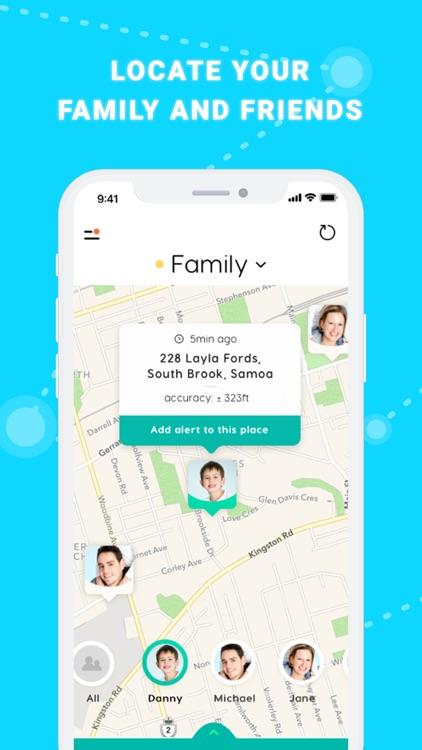 Family GPS Locator GeoZilla
