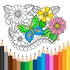 Книжка-раскраска для взрослых. icon