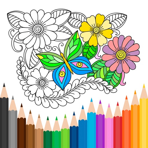 Anti-stress Coloring Book Calm