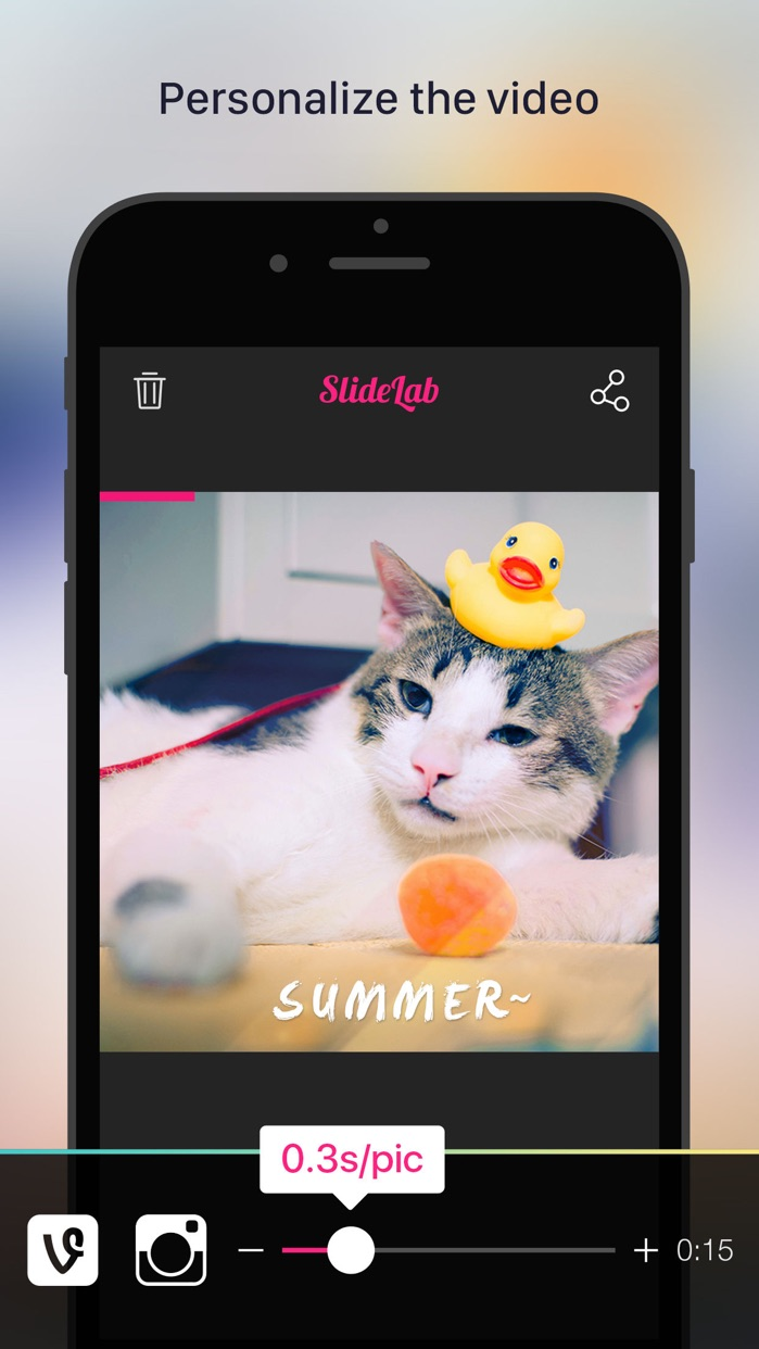 SlideLab: Add Music to Photos Screenshot