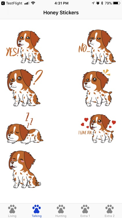 Honey the Brittany Spaniel screenshot-1