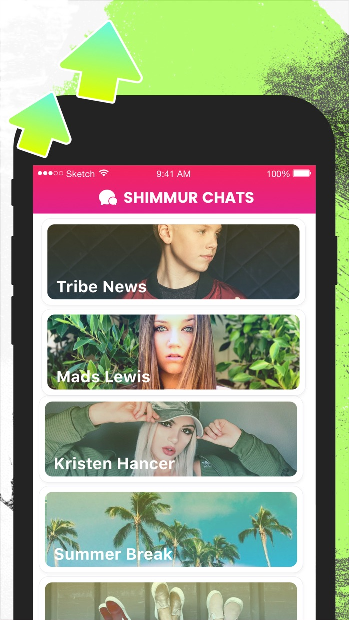 Shimmur - get noticed Screenshot