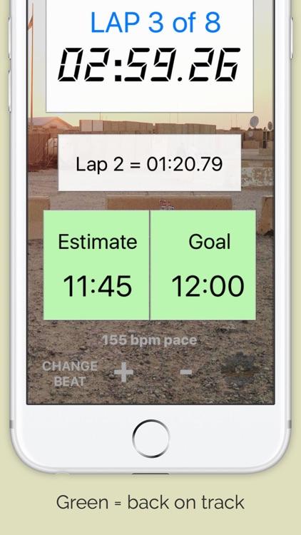 Army / Marine Corps Run Pacer screenshot-3