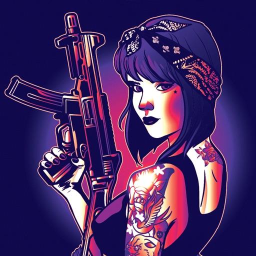 Gangster Gun - Zombie Attack iOS App