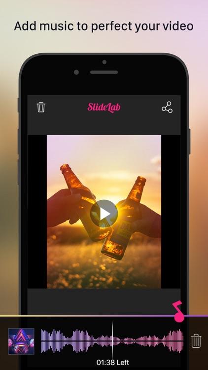 SlideLab - Add Music to Photos screenshot-4