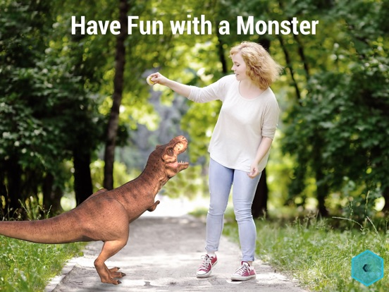 Monster Park - AR Dino World screenshot 9