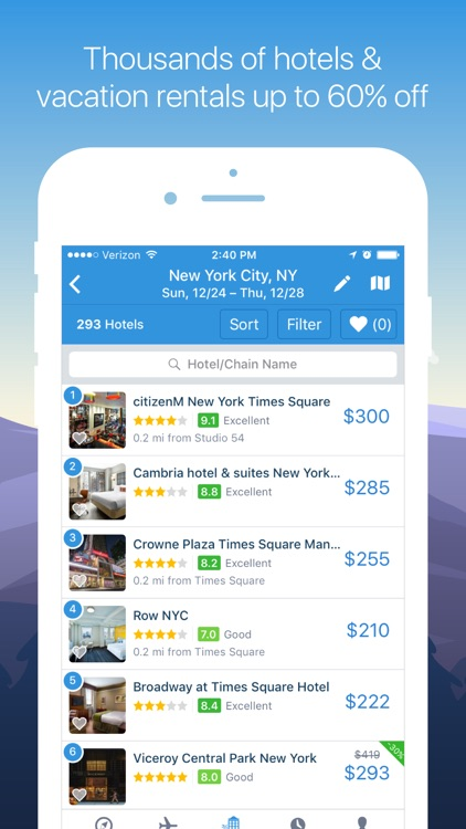Hipmunk Travel Search screenshot-4
