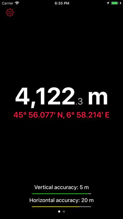 Up High - Barometric Altimeterのおすすめ画像3
