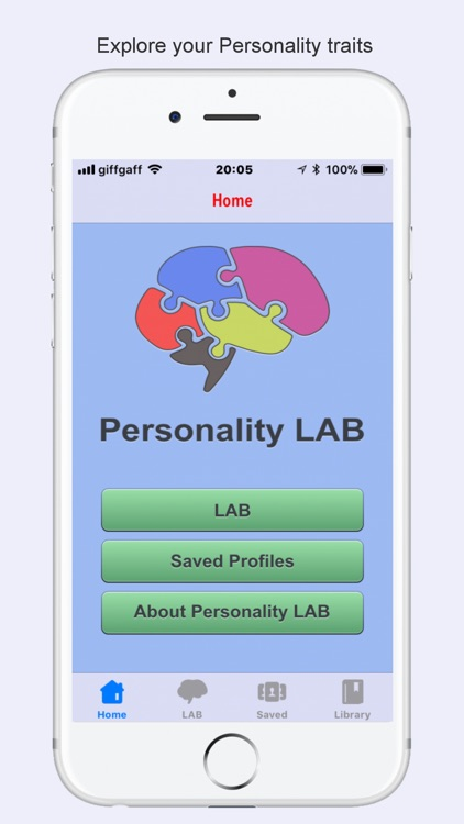 Personality Test LAB screenshot-0