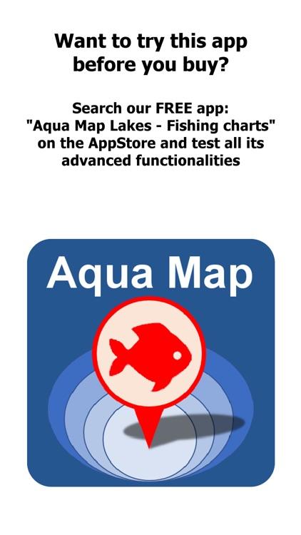 Aqua Map Oregon Lakes GPS HD screenshot-0