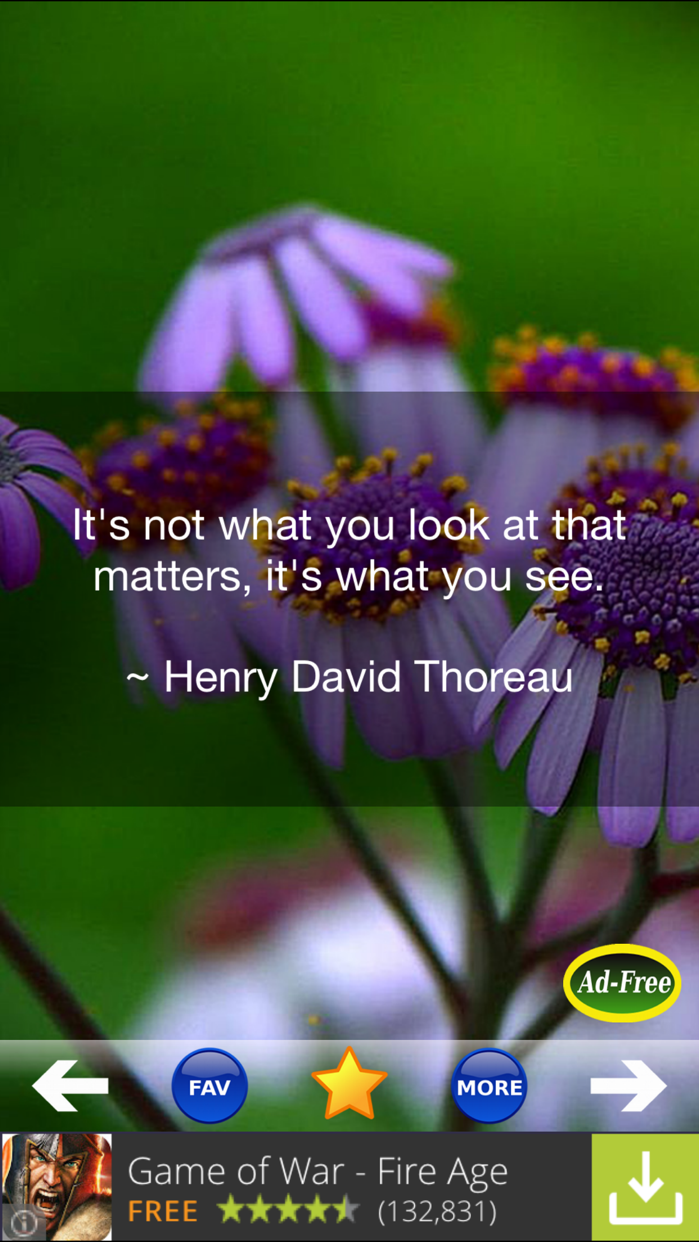 Inspirational Quotes & Sayings Screenshot