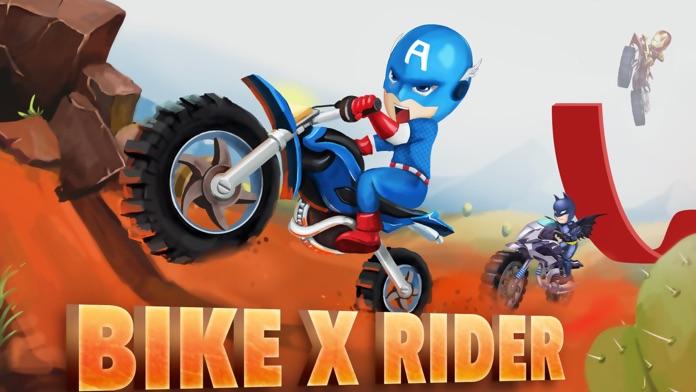 Bike X Rider-Motorcycle Games Screenshot