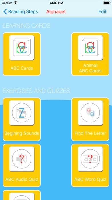 Reading Steps For Kids Screenshots