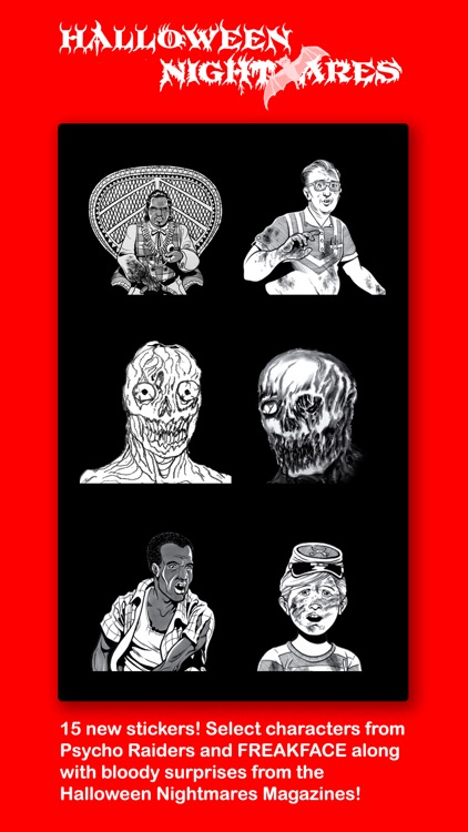 Halloween Nightmares Stickers screenshot-3