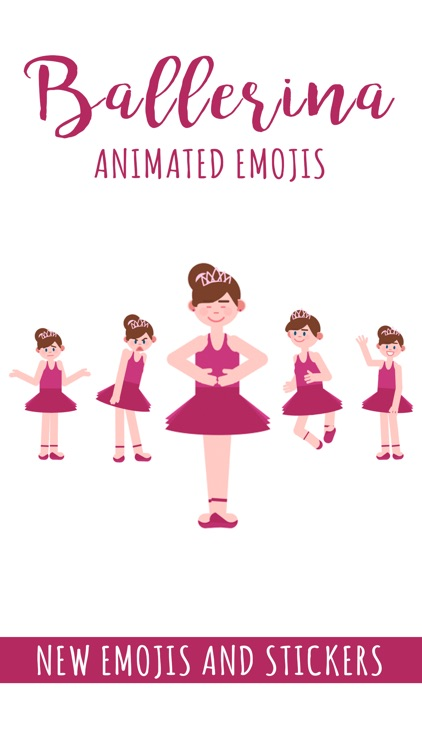 Ballerina Animated Emoji