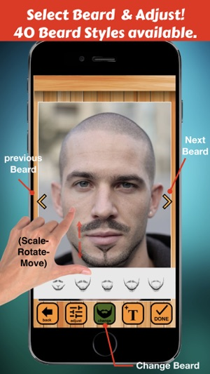 Beard Booth - Photo Editor App on the App Store
