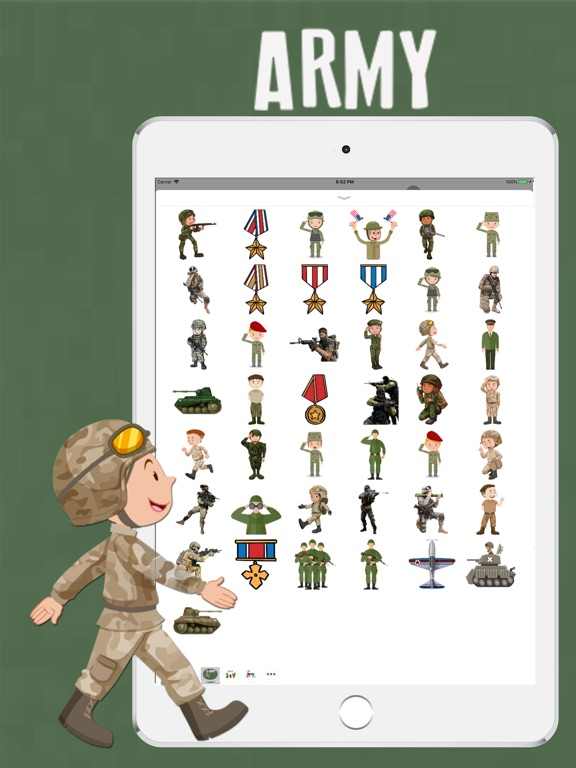 Army Pack Stickers screenshot #3