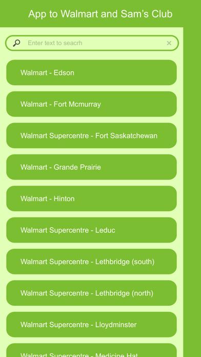 App to Walmart and Sam's Club Screenshot