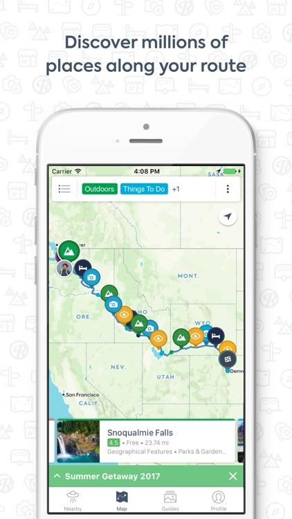 Roadtrippers - Trip Planner