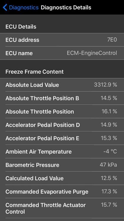 OBD Evolution: Car Diagnostics screenshot-4