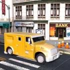 现金 交货 装甲 卡车 3D icon